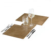 POSH TRADING COMPANY PLACEMAT VINTAGE BRASS