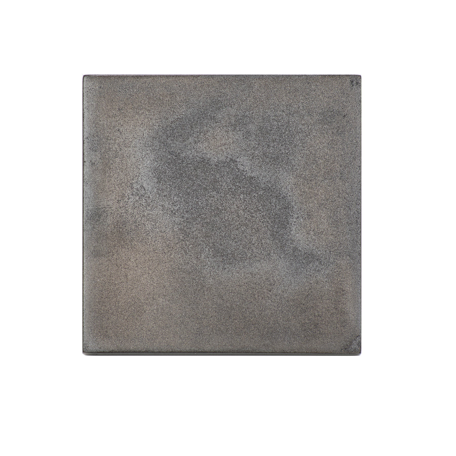 POSH TRADING COMPANY COASTER SILVER LEAF IN URBAN IRON