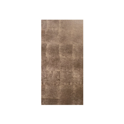 POSH TRADING COMPANY DOUBLE COASTER SILVER LEAF IN TAUPE
