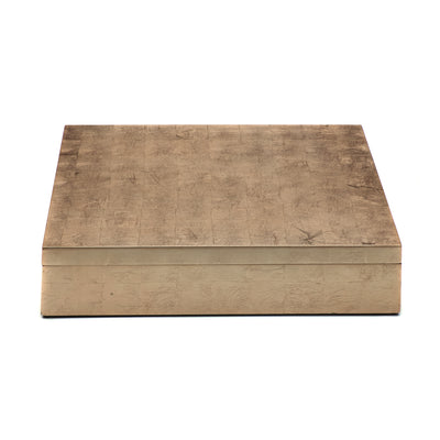 POSH TRADING COMPANY MATBOX SILVER LEAF IN TAUPE
