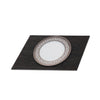 POSH TRADING COMPANY SERVING MAT / GRAND PLACEMAT FAUX BOA CHARCOAL