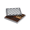 PINETTI GAME BOARD FOR CHESS AND CHECKERS PAWNS INCLUDED