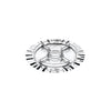 Mepra Sole Silver Hours'd'Oeuvre tray 5 Compartment ,Mepra | Zangheim Ltd.