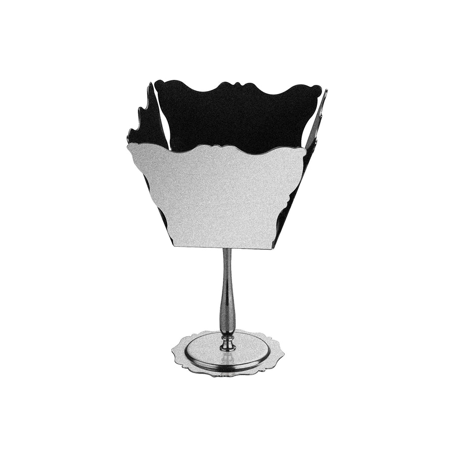 Mepra Silver Dolce Vita basket  with Base ,Mepra | Zangheim Ltd.