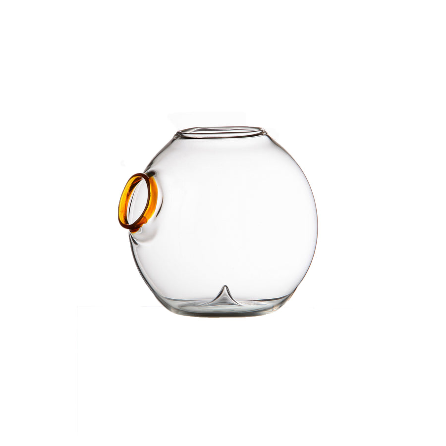 Zieher Amuse glass miniature nut bowl