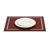 PINETTI PLACEMAT WITH CHROMED FRAME