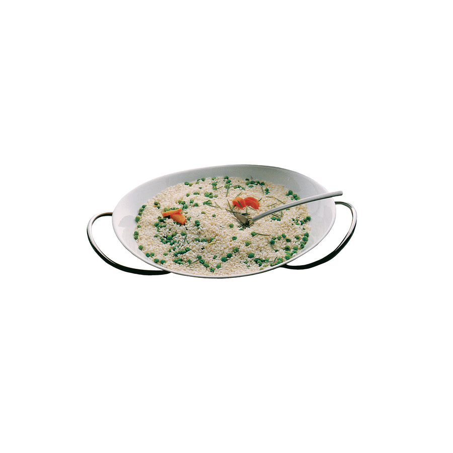 Mepra Deep Serving Set for Risotto with a China Bowl Caldo Freddo ,Mepra | Zangheim Ltd.