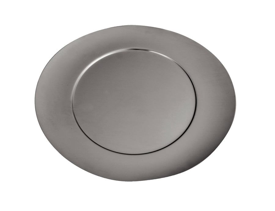 Mepra silver Charger Plate in  Due, Due Ice