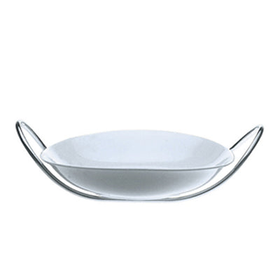 Mepra Fine China risotto Bowl with multifunction stand   Due, Due Ice ,Mepra | Zangheim Ltd.