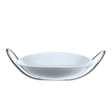 Mepra Fine China risotto Bowl with multifunction stand   Due, Due Ice