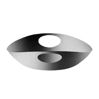 Mepra Bowl Fretworked Handles   Due, Due Ice ,Mepra | Zangheim Ltd.
