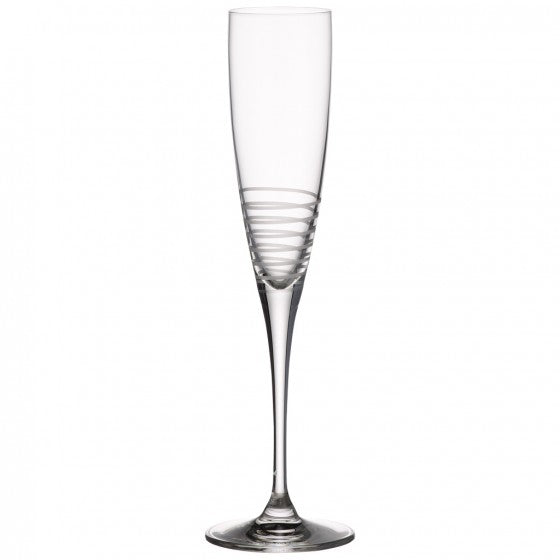 Villeroy & Boch Maxima Decorated Champagne Flute Spiral