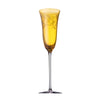 Versace Arabesque Amber Champagne Flute