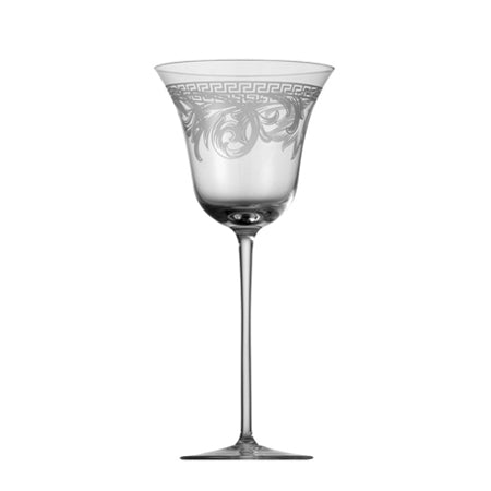 2 x Versace Arabesque White Wine Goblet ,Versace | Zangheim Ltd.