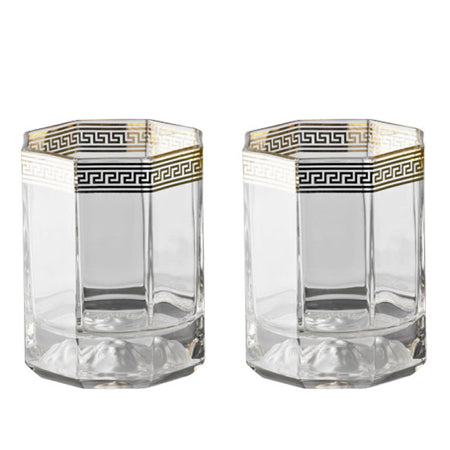 Versace Medusa d'Or Gb 2 Whisky Tumblers