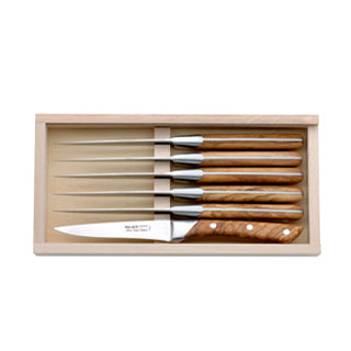 Alain Saint-Joanis Case of 6 Palace Steak Knives ,Alain Saint-Joanis | Zangheim Ltd.