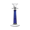 Theresienthal Louisa double sleeve cobalt blue Candlestick