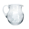 Theresienthal Kilimandscharo clear pitcher with elephant and giraffe engraving