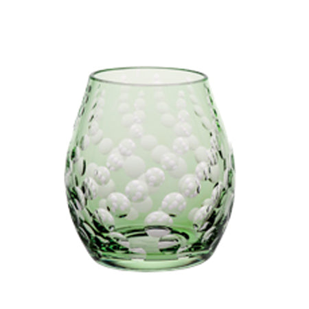 Theresienthal Mondial lens cut emerald tumbler