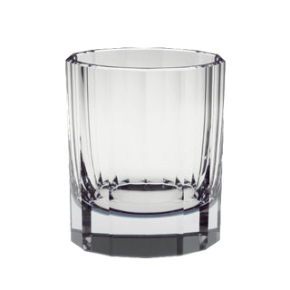 Artel Faceted Clear Double Old Fashioned