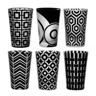 Artel Graphic Collection Tumbler Set of 6 ,Artel | Zangheim Ltd.