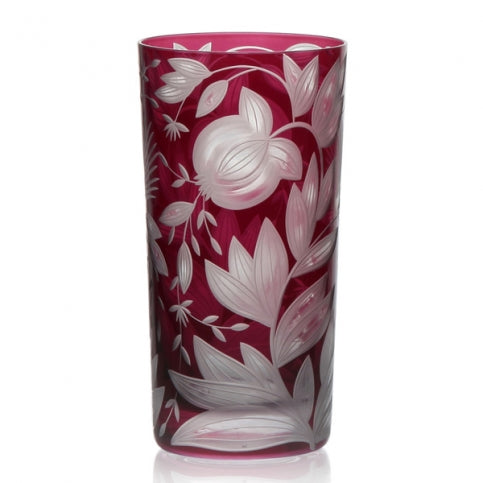 Artel Verdure Highball Glass Fuschia