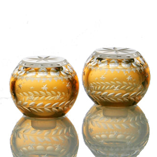 Artel Staro Salt & Pepper Set Amber
