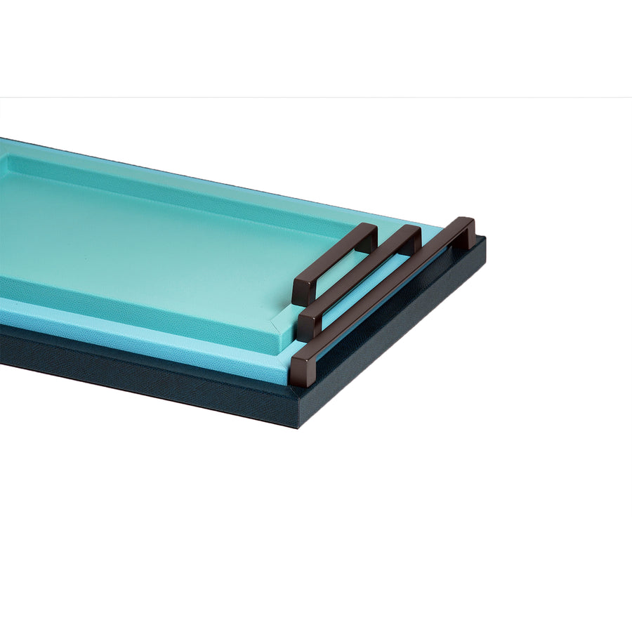 PINETTI RECTANGULAR JUPITER TRAY BLUE