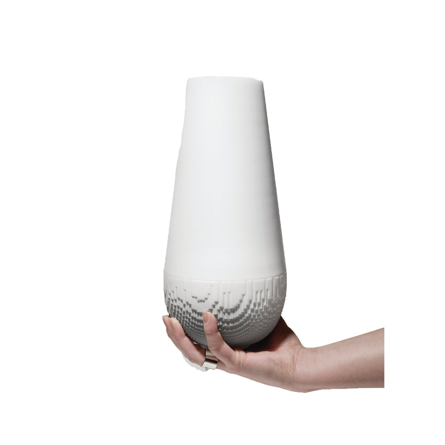 Non Sans raison evolution Large spherical vase