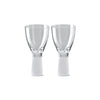 Rosenthal Vizner Schliff set of 2 white wine glasses