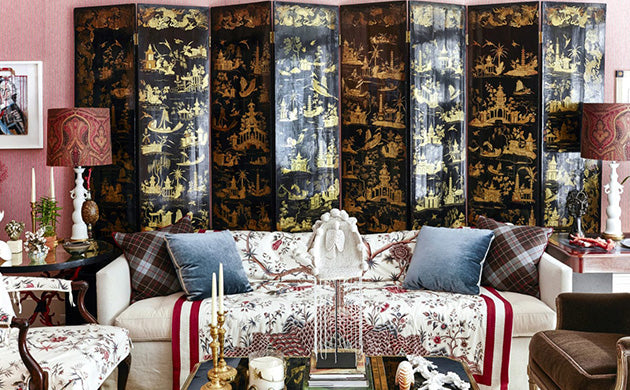 A Chinoiserie Inspired Room