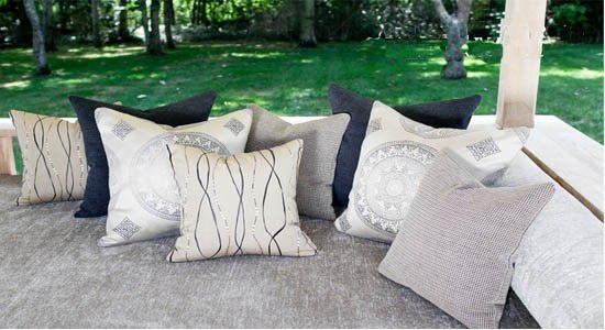 Groundworks Fabric, throw pillows