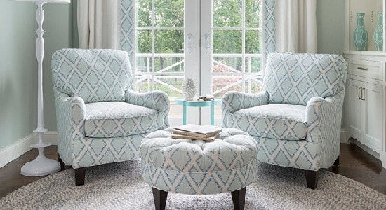 Kravet Brookhaven chambray fabric