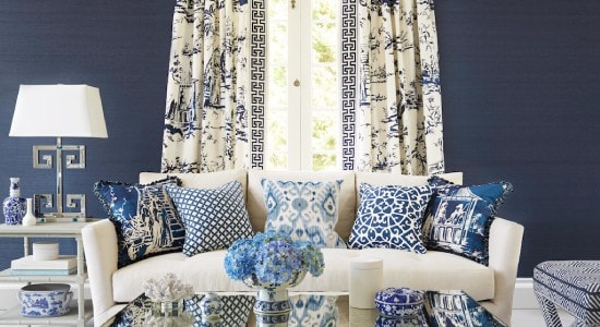 Sold By Yard Sofa Curtains Home Decor Furniture Drapery PEARL Peacock Leaf Floral Upholstery Fabric