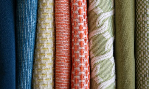 Boris Kroll Fabrics multi colored fabric to suit any project.