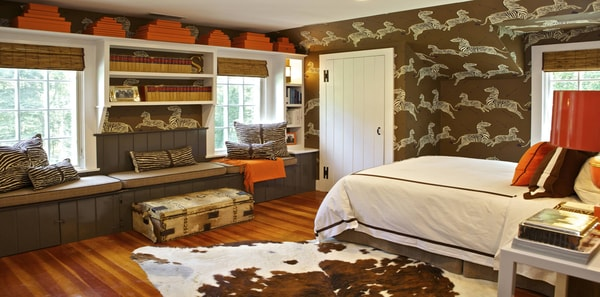 A SAFARI BEDROOM