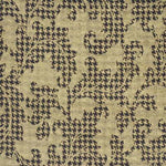 Mulberry Acanthus Leaves Beige/Chocolate/Tan Fabric
