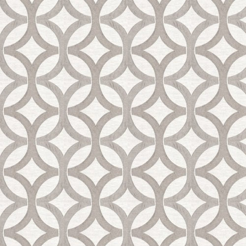 Fabricut Wow Lattice Slate Fabric - Fabric