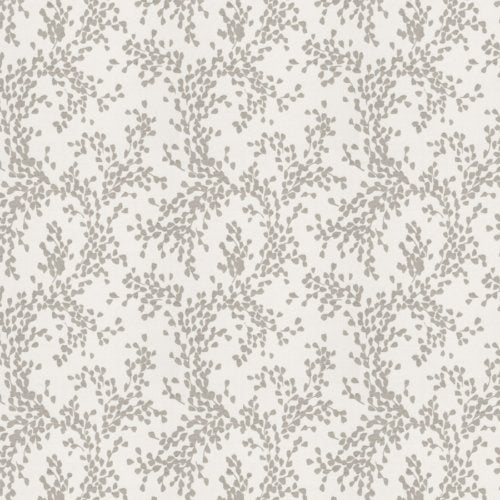 Fabricut Zinger Leaves Dove Fabric - Fabric