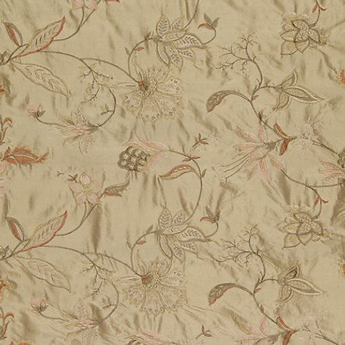 Old World Weavers Nadina Travertine Fabric - Fabric