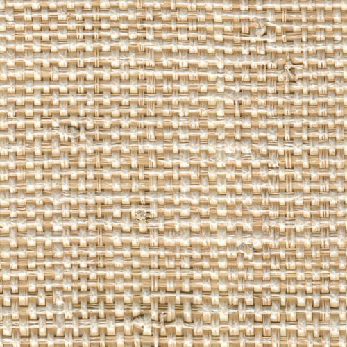 Phillip Jeffries African Raffia White Wash Wallpaper - Wallpaper