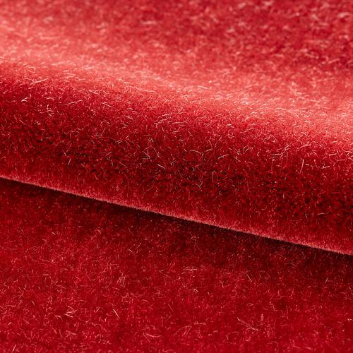 Old World Weavers Neva Mohair Red Pepper Fabric - Fabric