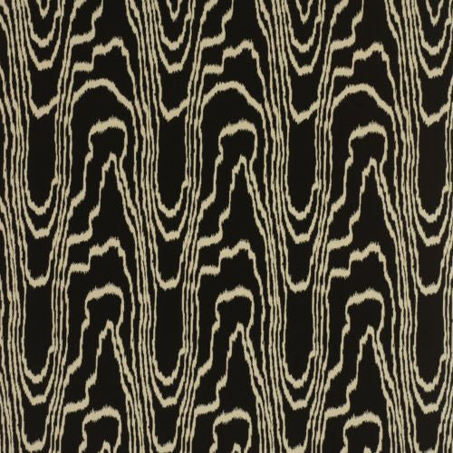 Groundworks Agate Paper Black/Gold Wallpaper - Wallpaper