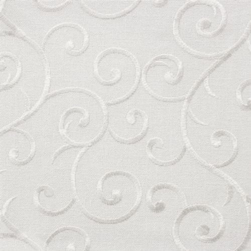 Stout Angelica White Fabric - Fabric
