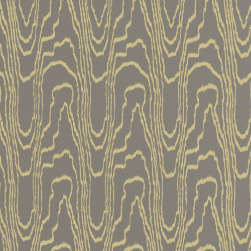 Groundworks Agate Paper Taupe/Gold Wallpaper - Wallpaper