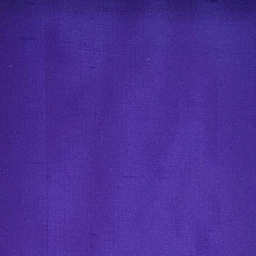 Old World Weavers Dupioni Solids Sapphire Fabric - Fabric