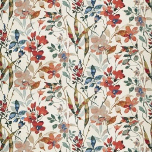 Vervain Amiliana Poppy Fabric - Fabric