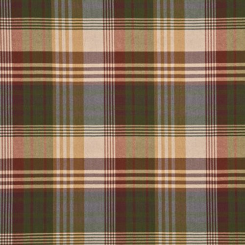 Mulberry Ancient Tartan Mulberry Fabric - Fabric