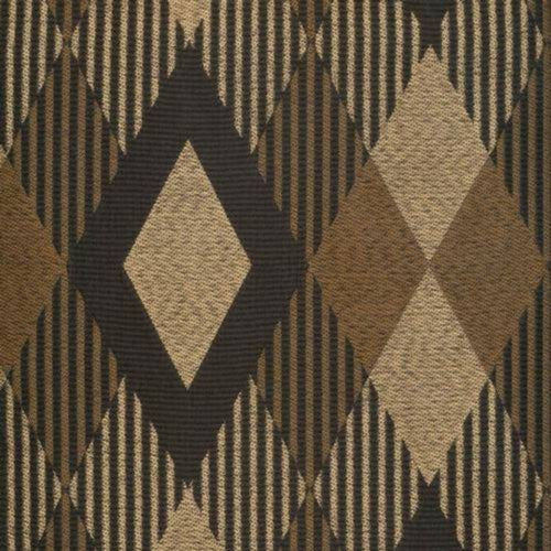Kasmir Leala Black Gold Fabric - Fabric