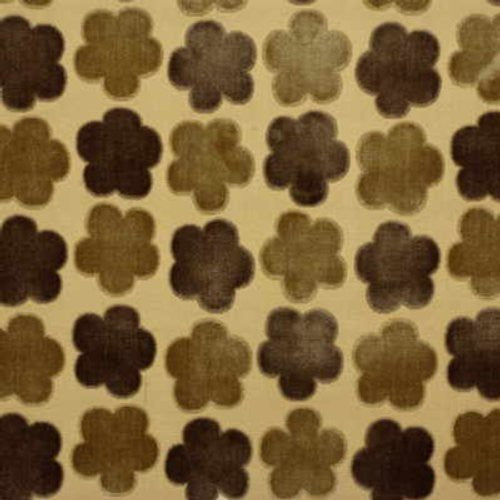 Mulberry Aster Velvet Sand/Co Fabric - Fabric